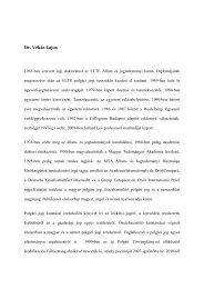 Dr. Vékás Lajos 1963-ban szerzett jogi doktorátust az ELTE Állam ...