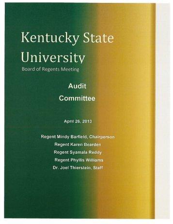 Committee - Kentucky State University