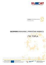 Priročnik animacije - TIC Topla - Zavod RS za varstvo narave