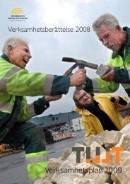 Verksamhetsplan 2009 - tillt