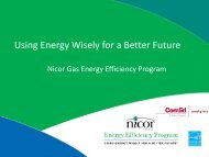 joint Nicor Gas and ComEd Program - The Smart Energy Design ...