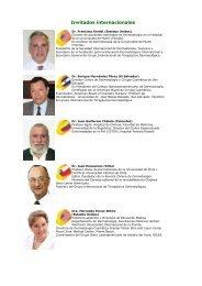 Invitados internacionales - Sociedad Argentina de Dermatología