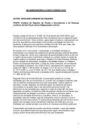 As associações e o novo código civil - 2registropira.com.br