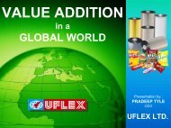 VALUE ADDITION IN A GLOBAL WORLD