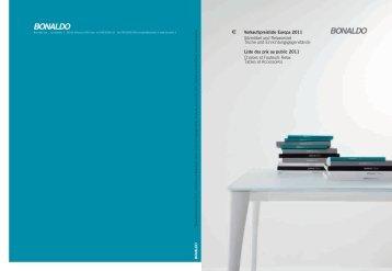 Verkaufspreisliste Europa 2011 SitzmöbelundRelaxsessel ...