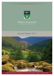 Wicklow County Council Annual Report 2011 - Wicklow.ie