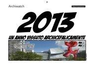 Calendario degli Architetti 2013 - Archiwatch