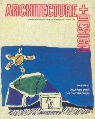 Architecture + Design, June