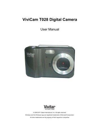 dvr 650 digital video camera vivitar rh yumpu com Vivitar DVR 430 HD Battery Vivitar Camcorder DVD