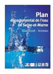 PDE Bilan 2008 - annexes - Site de l'eau en Seine-et-Marne
