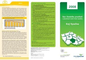 Kraj Vysočina - CENIA, česká informační agentura životního prostředí