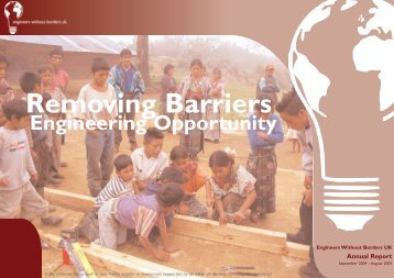 Annual Report 2004 - 2005.qxd - Engineers Without Borders UK