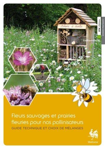 Fleurs sauvages et prairies fleuries pour nos pollinisateurs, guide ...