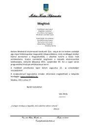 Elszármazottak találkozója, 2011. szeptember 03 ... - Medina
