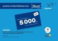 austria wirtschaftsservice - impulse/aws