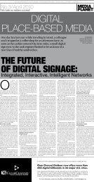 Digital Place-based Media Supplement - Lyle Bunn
