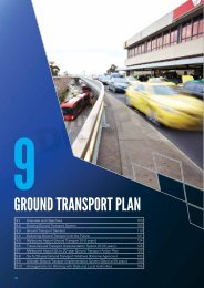 Section 9 - Ground Transport Plan - Melbourne Airport