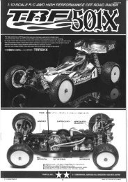 Tamiya TRF 501X Manual - Wheelsacademy.info