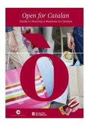 Guia per instal·lar-se comercialment en català - Confederació de ...