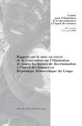 Violence contre les femmes en RDC