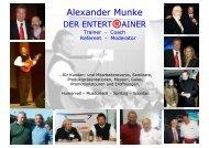 Erfolg mit Herz, Mut und Verstand - Alexander Munke