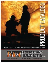 Meeting your highest expectations in sales and ... - M&T Fire & Safety