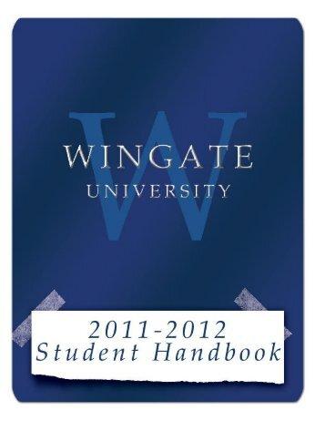 Student Life - Wingate University