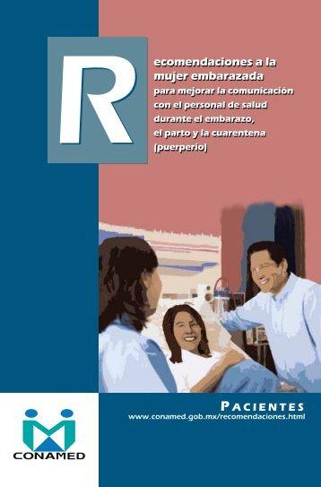 ecomendaciones a la mujer embarazada ecomendaciones a la ...