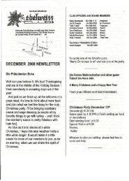 december 2008 newsletter - German-American Club of Boise, Idaho