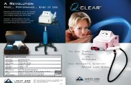 Q-Clear Brochure REVISED - Light Age, Inc.
