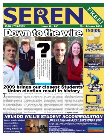 Down to the wire - Seren - Bangor University