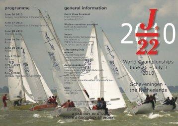 World Championships June 26 – July 3 2010 Scheveningen - the ...