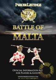 BATTLE OF MALTA - PokerListings.com