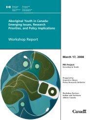 Aboriginal Youth in Canada