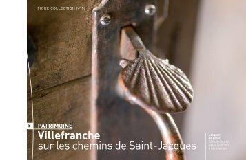 Fiche n°16 - Villefranche sur les chemins de Saint-Jacques