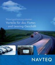 Navigationssysteme - NAVIGATION - Navteq