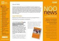 National Child Measurement programme - National Obesity ...