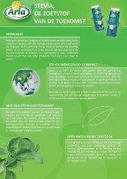 Arla Stevia factsheet - PersPagina