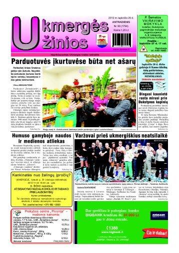 2012-11-20 - Ukmergės žinios