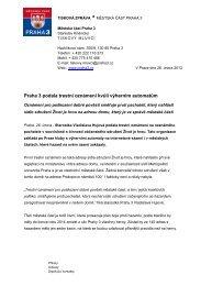 Praha 3 podala trestní oznámení kvůli výherním automatům