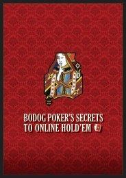 Bodog Poker's seCreTs To online Hold'em - Offshorebettor