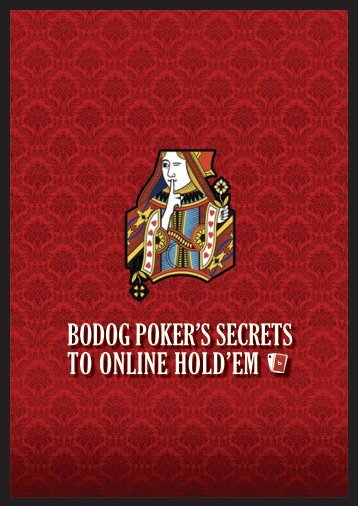 Bodog Poker's seCreTs To online Hold'em - Offshorebettor