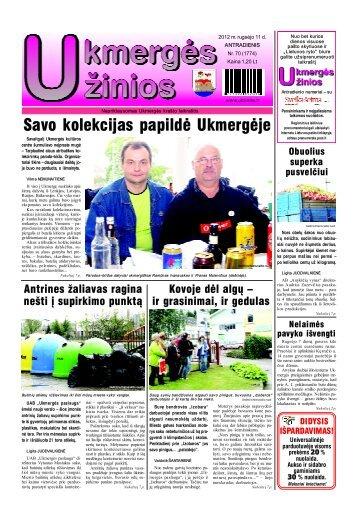 2012-09-11 - Ukmergės žinios