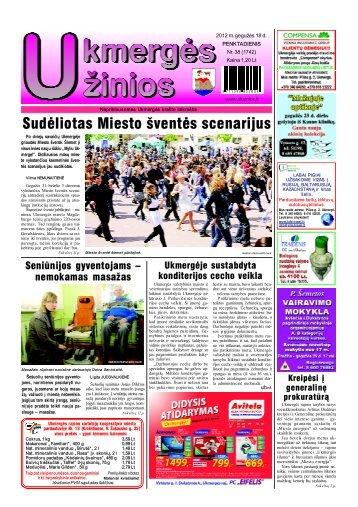 2012-05-18-UZ-1 dalis - Ukmergės žinios