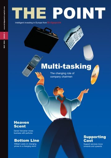 Multi-tasking - Bridgepoint Capital