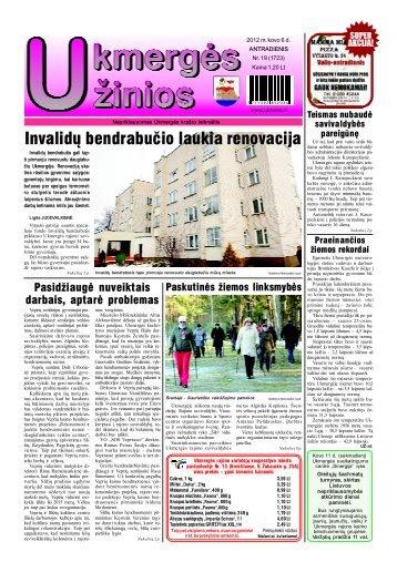 2012-03-06 - Ukmergės žinios