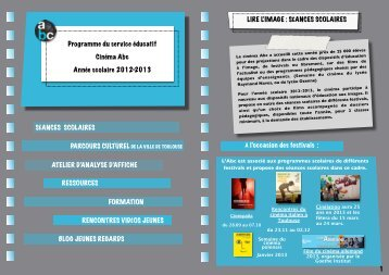 Programme du service éducatif 2012/2013 (pdf) (827.4 ko) - cinema ...