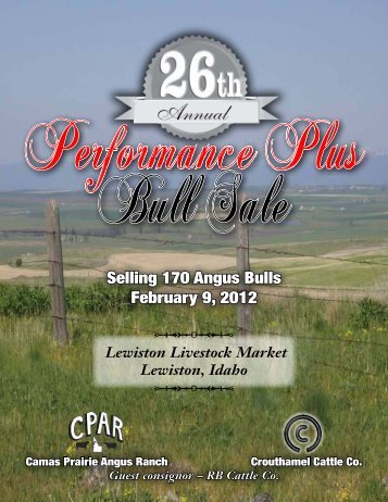 Selling 170 Angus Bulls February 9, 2012 - Parnell Dickinson