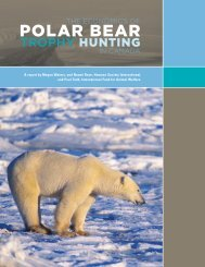 The Economics of Polar Bear Trophy Hunting in - the Department of ...