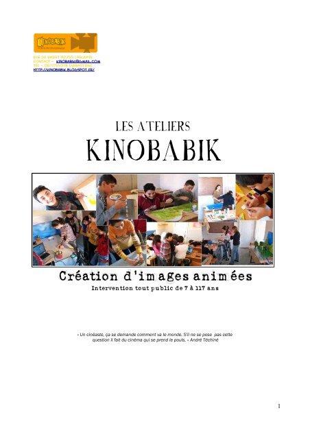 PRESENTATION DU KINOBABIK (pdf) - cinema-midipyrenees